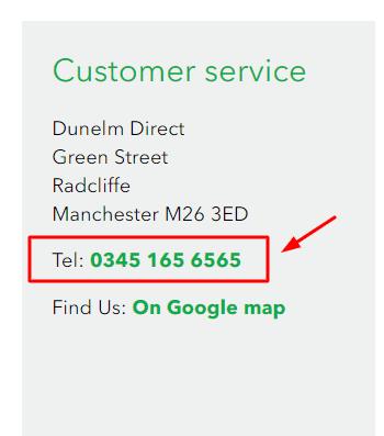 dunelm phone number