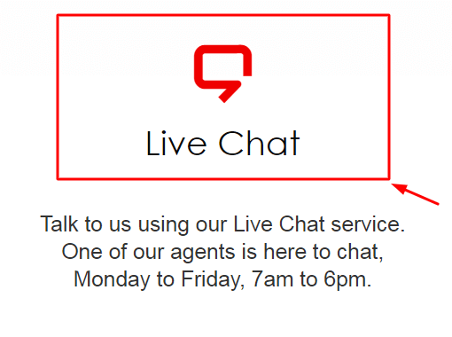 rs components live chat